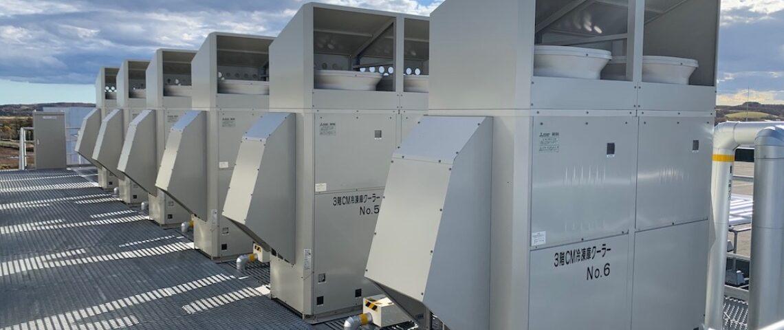 冷凍冷蔵庫冷却設備